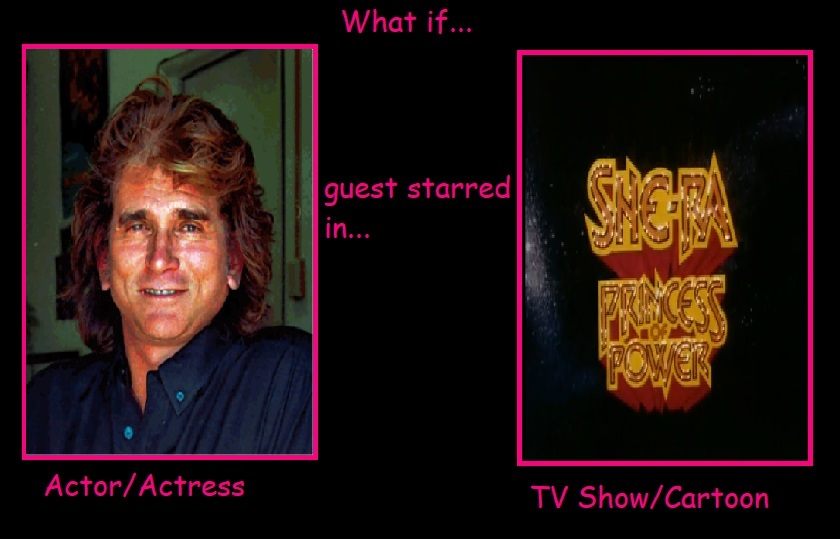 What if Michael Landon Guest Star in She-Ra by JasonPictures