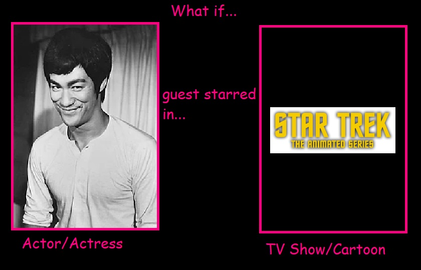 What if Bruce Lee Guest Star in Star Trek Animated by JasonPictures