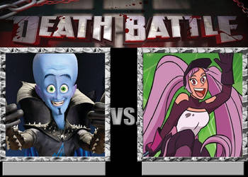 Megamind vs. Entrapta by JasonPictures
