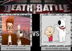 Mr. Peabody and Sherman vs. Stewie Griffin and Bri
