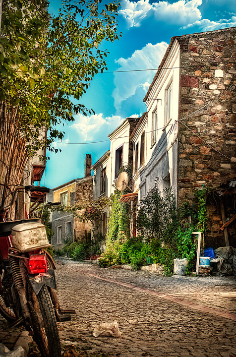 Streets on Bozcaada Turkey by cenkakyildiz on DeviantArt