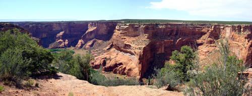 PANO - Canyon De Chelley 2 by RegineSkrydon
