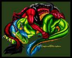 Red Dragon Armais Sleep Color