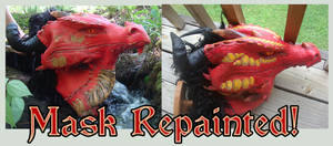 Red Dragon - Mask Update by RegineSkrydon