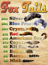 Product - Fox Tails by RegineSkrydon