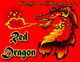 THE Red Dragon by RegineSkrydon