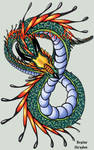 Dragons - number 8 Color