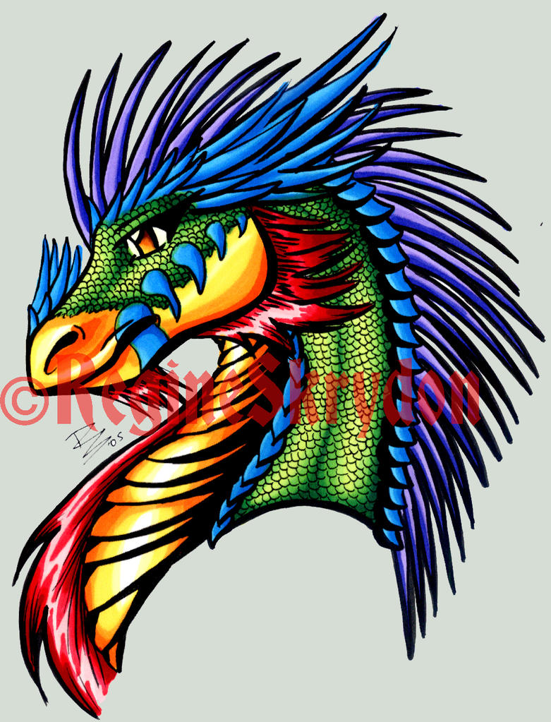 Dragon Drawings in Color Dragons Eberon Colored by