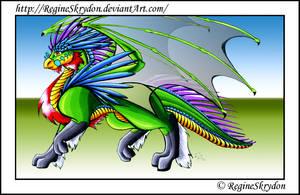 Dragons - Eberon C by RegineSkrydon