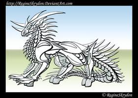 Dragons - The Gladiator by RegineSkrydon