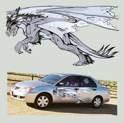 Dragons - Decal Contest by RegineSkrydon