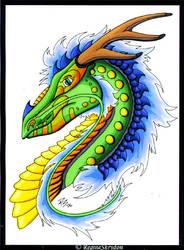 Dragons - Asian Request C by RegineSkrydon