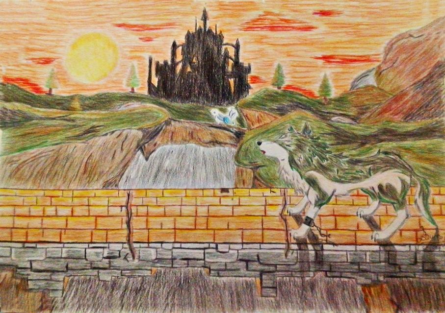 Bridge of Eldin Twilight - 100th deviation! by Sunrise-LoneWolf