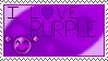 I Love Purple - Stamp by Sunrise-LoneWolf