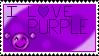 I Love Purple - Stamp by Sunrise-LoneWolf