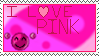I Love Pink - Stamp by Sunrise-LoneWolf