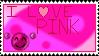I Love Pink - Stamp by Sunrise-LoneWolf