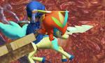 Toon Link rides again