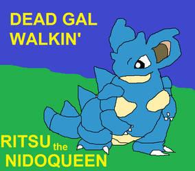 The Queen Undertaker!!!