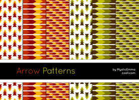 Arrow Patterns by MysticEmma