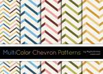 MultiColor Chevron Patterns