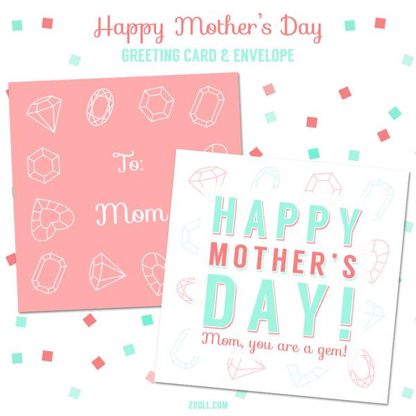 mother 39 s day greeting card and envelope printable by mysticemma on deviantart. Black Bedroom Furniture Sets. Home Design Ideas