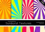 Summertime Sunburst Textures