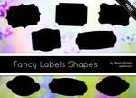 Fancy Labels Shapes