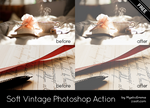 Soft Vintage Photoshop Action