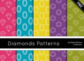 Diamonds Patterns by MysticEmma