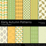 Early Autumn Patterns