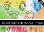 Doodle Diamonds Brushes
