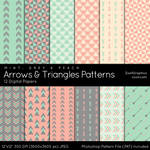 Arrows And Triangles Patterns