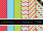 Christmas Colors Patterns