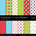 Christmas Doodles Patterns