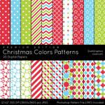 Christmas Colors Patterns - Premium Edition