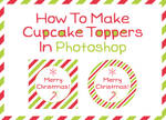 How To Make Cupcake Toppers In Photoshop