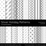 Silver Holiday Patterns