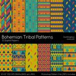 Bohemian Tribal Patterns