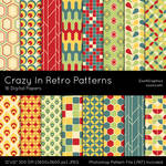 Crazy In Retro Patterns by MysticEmma