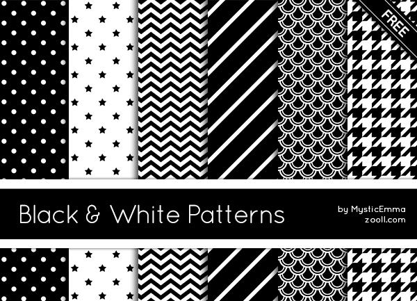 Black And White Patterns By MysticEmma On DeviantArt