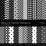 Black And White Patterns - Premium Edition