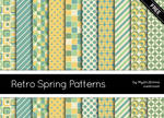 Retro Spring Patterns