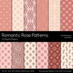 Romantic Rose Patterns