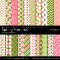 Spring Patterns by MysticEmma