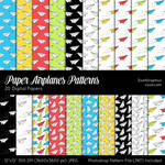 Paper Airplanes Patterns