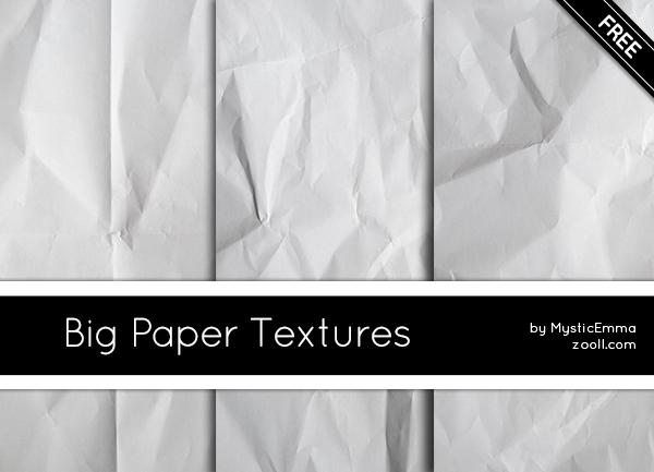 Big Paper Textures by MysticEmma