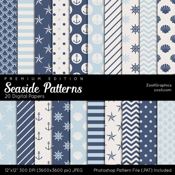 Seaside Patterns - Premium Edition by MysticEmma