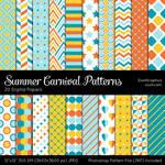 Summer Carnival Patterns