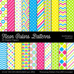 Neon Colors Patterns